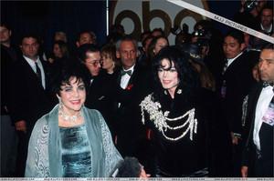 Michael And Dame Elizabeth Taylor