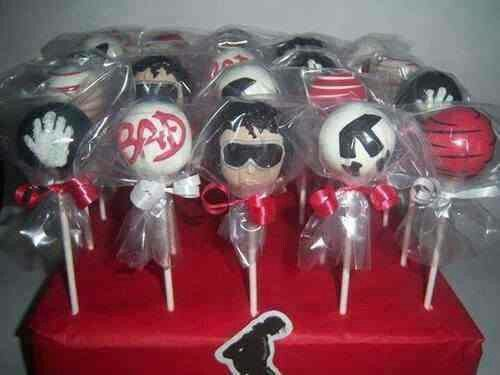 Michael Jackson Candy Lollypops