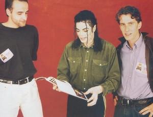 Michael Jackson Dangerous 사진 Shoots
