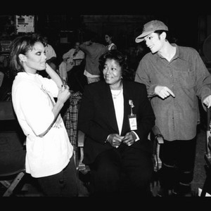 Michael Jackson Janet Jackson With Mother Katherine Jackson 1995