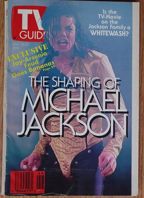 Michael On The Cover Of TV Guide