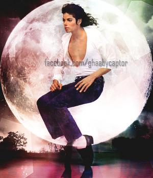 Michael j. en la luna