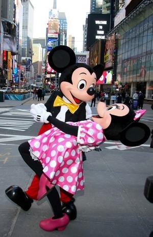 Mickey And Minnie In New York City