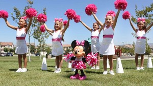 Minnie Mouse Cheerleading Doll