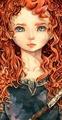 Miss Meridia - disney fan art