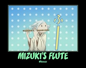 Mizuki's flute