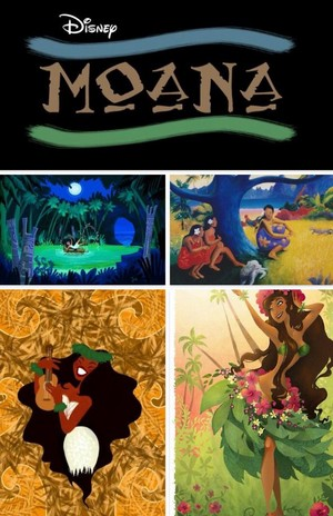 Moana Logo and early sketches