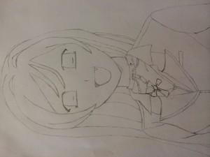 Moka-San Drawing