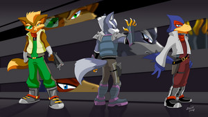 More Star Fox Art