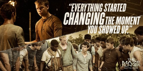 Maze Runner Quotes With Page Numbers: The Maze Runner Film Images Movie Quote HD Wallpaper And
