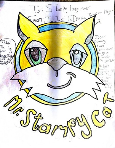 Stampylongnose wallpaper with anime titled Mr. Stampy Cat