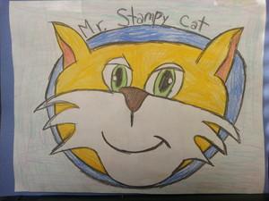 Mr Stampy Cat