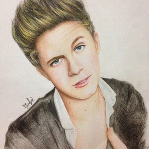 My Niall Horan drawing!