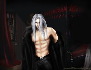 My kegemaran fanart of Sephiroth