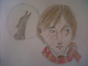 My little draw of a young Remus Lupin...