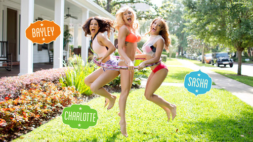 WWE Divas wallpaper titled NXT's Summer Vacation - Pool Party