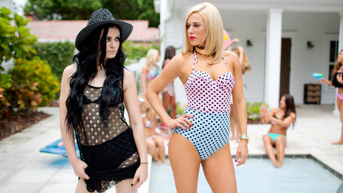 WWE Divas achtergrond with a maillot called NXT's Summer Vacation - Pool Party