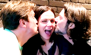 Nathan,Lana and Eddie in Vancouver(May,2014)