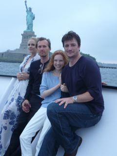 Nathan,Molly and Castle's cast(2008)