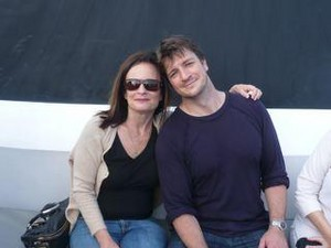 Nathan and Castle's producer(2008)