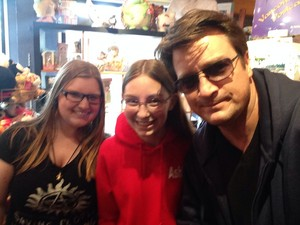 Nathan and fans(May,2014)