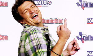 Nathan at the Comic Con(May,2014)