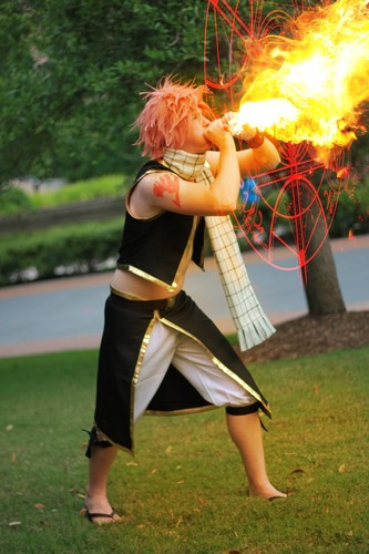 Fairy Tail Cosplay wallpaper entitled Natsu Dragneel Cosplay