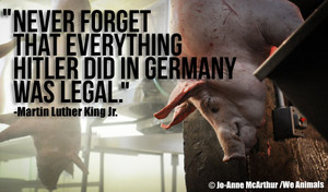 Never forget that everything Hitler did...