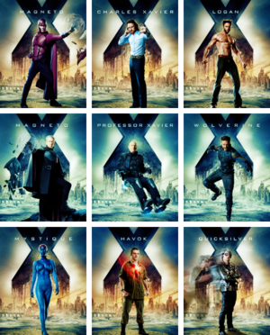 New Character Posters