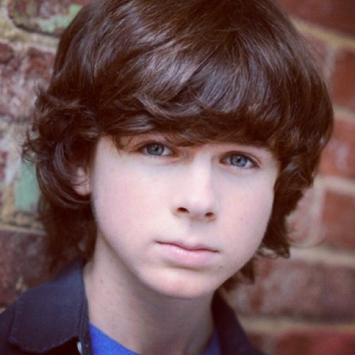 Chandler Riggs Hintergrund possibly with a portrait titled New picture of Chandler ❤