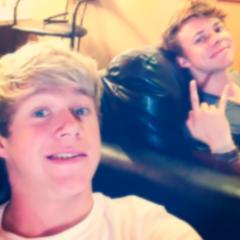 Niall Horan and Ashton Irwin