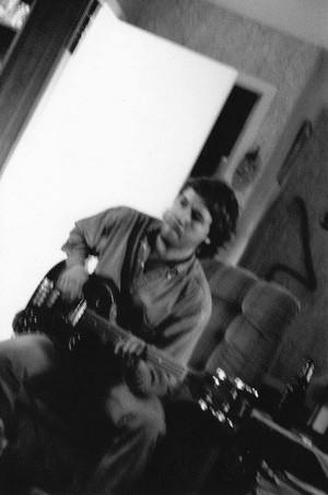 Nicholas w/ Gibson EB3