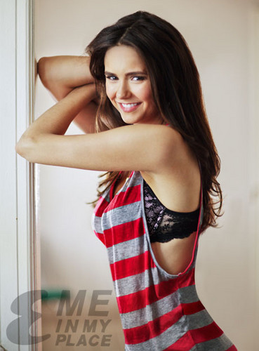 Nina Dobrev wallpaper probably with tights, a chemise, and a leotard called Nina Dobrev