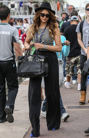 Nina out in Monte Carlo (May 25, 2014)