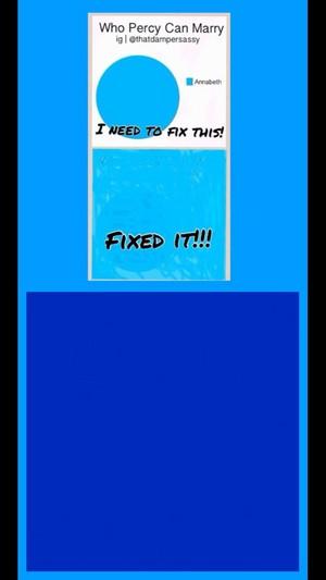 No, I fixed it!