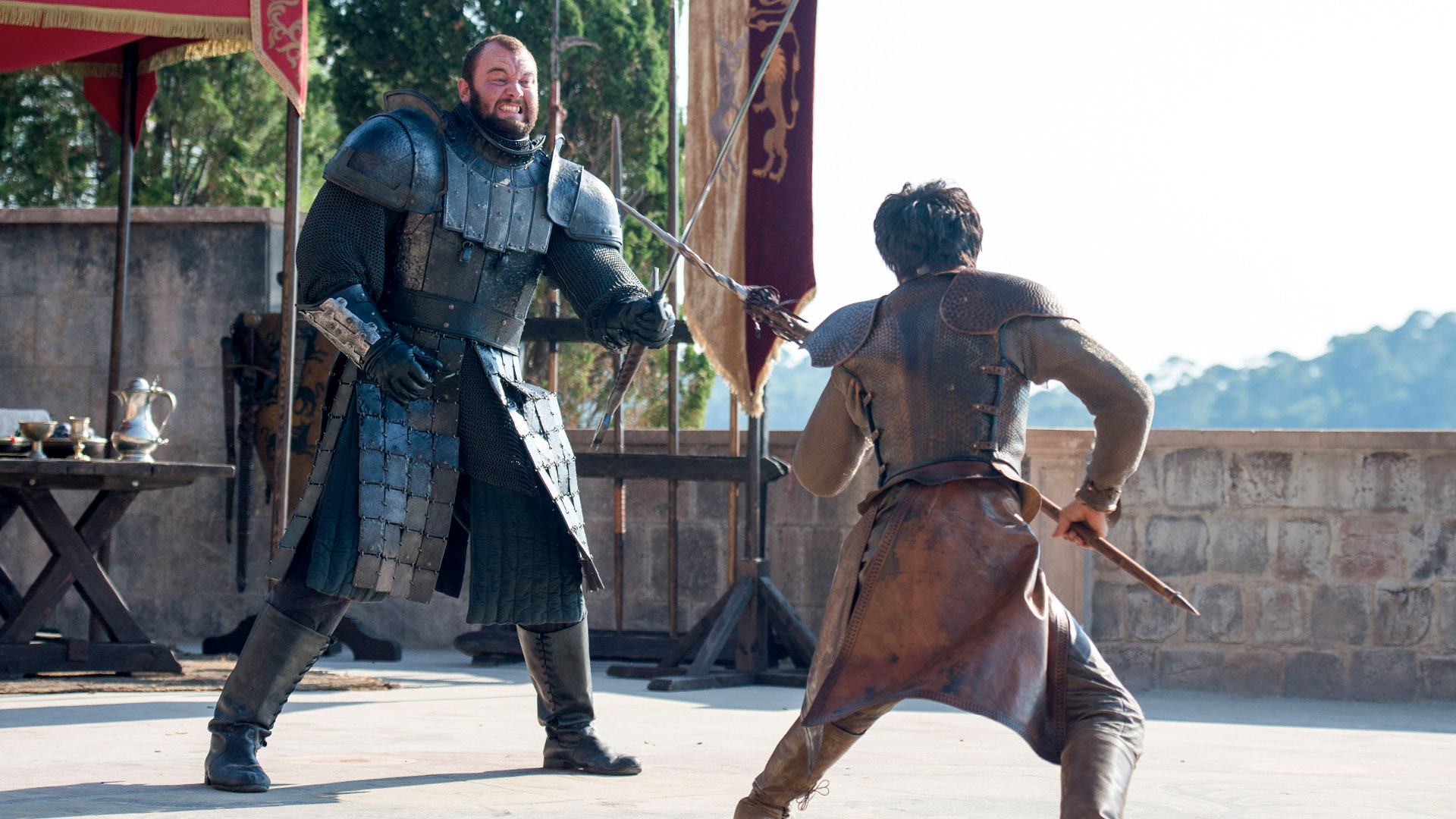 Oberyn Martell and Gregor Clegane - Oberyn Martell Photo ...