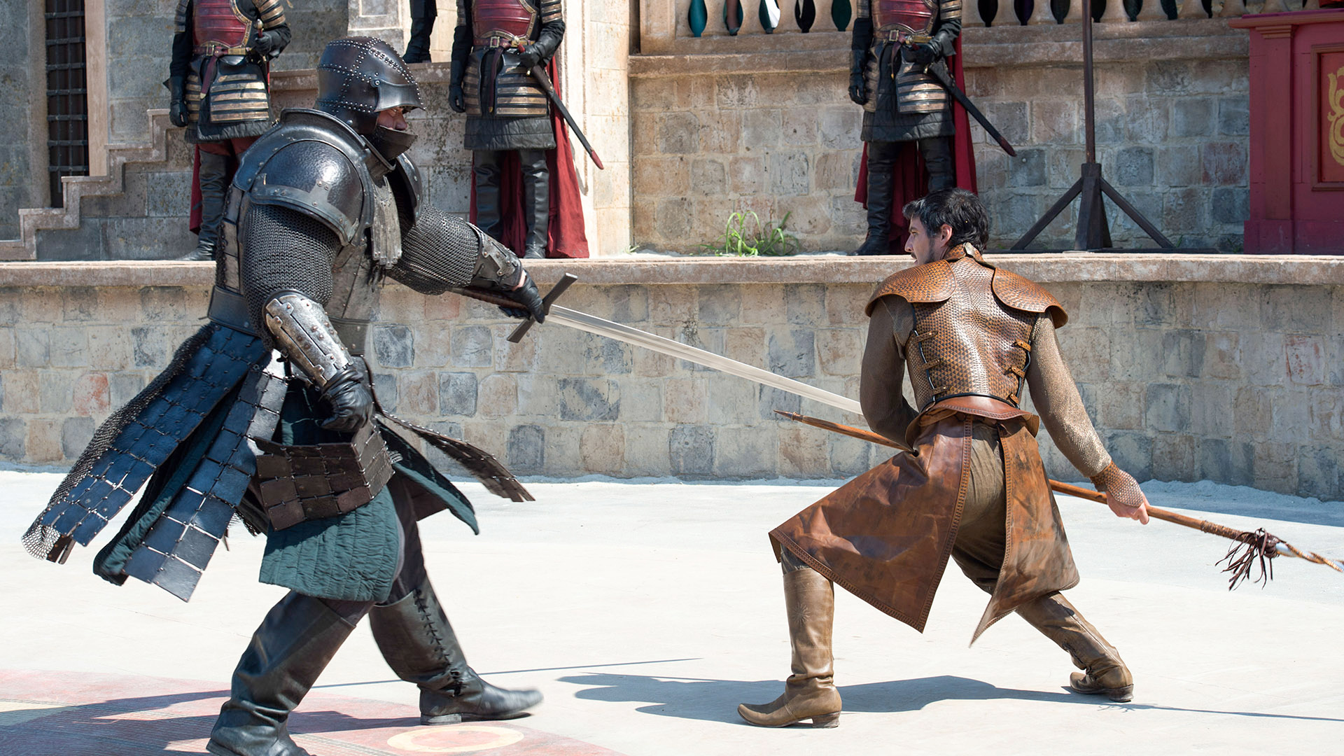 Image result for oberyn and gregor fight