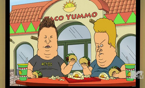 Obese Beavis and butthead