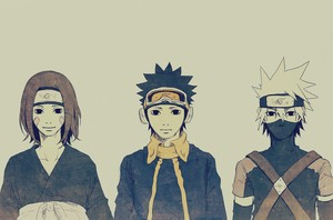 Obito Uchiha, Rin and 카카시 선생님 Hatake