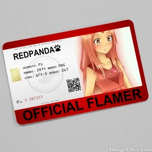 Official Flamer ID for RED!