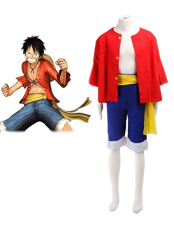 One piece Monkey·D·Luffy cosplay Costume