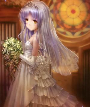 Otonashi's bride :D