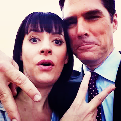 Paget Brewster wallpaper probably containing a business suit titled Paget and Thomas