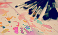 Paintbrushes Set - creativity photo