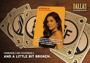 Pamela Rebecca Barnes | Dallas TNT Poster