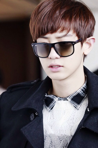 এক্সো দেওয়ালপত্র possibly containing sunglasses entitled Park Chanyeol