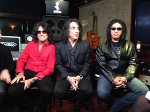 Paul Stanley, Tommy Thayer and Gene Simmons
