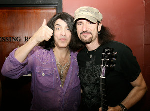 Paul Stanley and Bruce Kulick