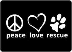 Peace 愛 rescue
