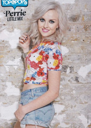 Perrie for 最佳, 返回页首 of the pops magazine